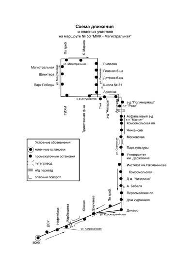 Автобусный Маршрут №55